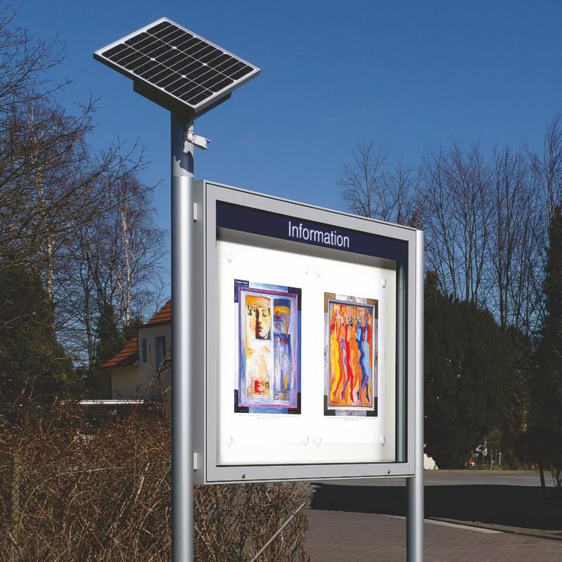 showcase PLENUM with an additional solar panel