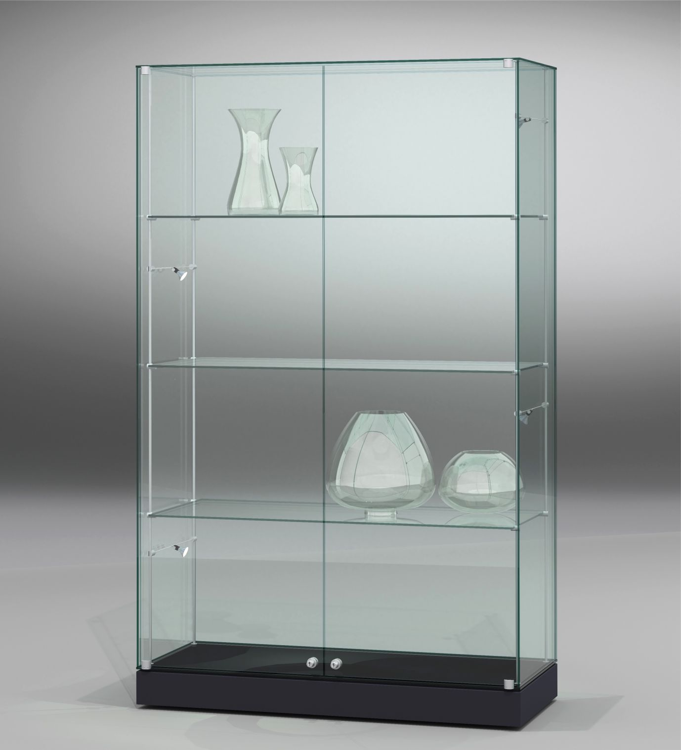 FANUM cabinet showcases