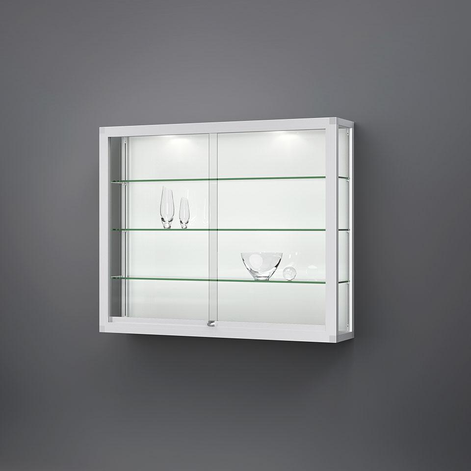 VERTUM glass-showcases wall