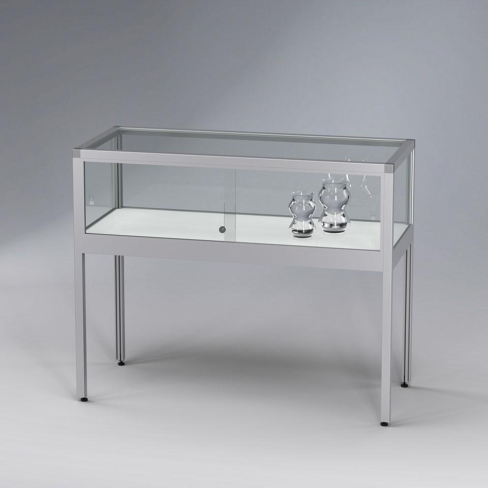 VERTUM glass-showcases table