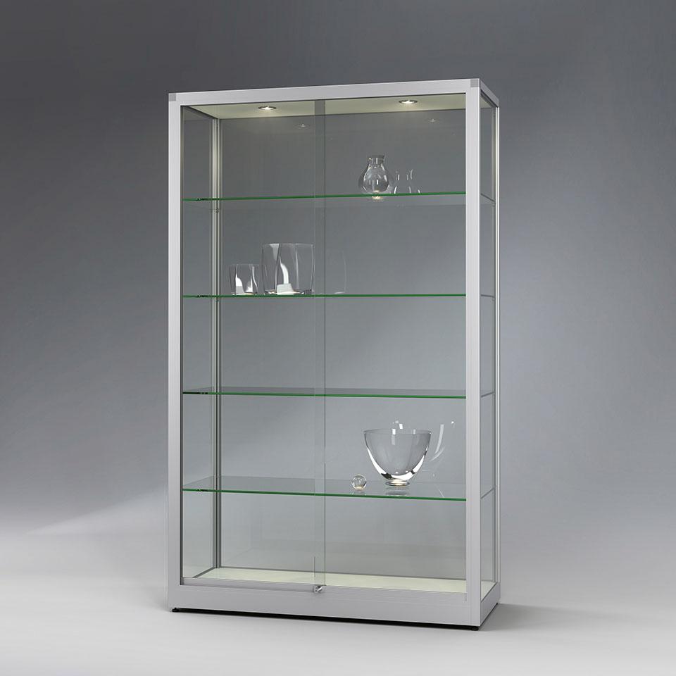 VERTUM glass-showcases cabin