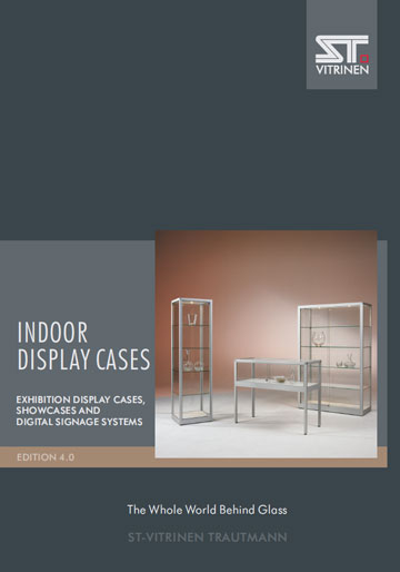 Exhibition Display Cases, Showcases and Digital Signage Systems Catalog