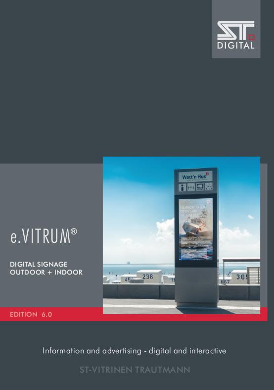 Digital Signage Catalog edition e.Vitrum 6.0