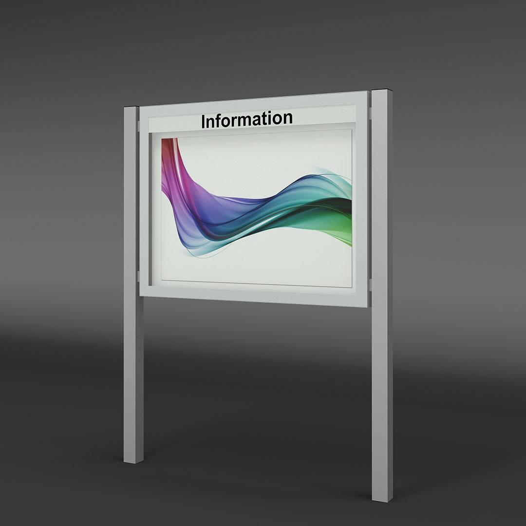 Design-Showcase for outdoor use
